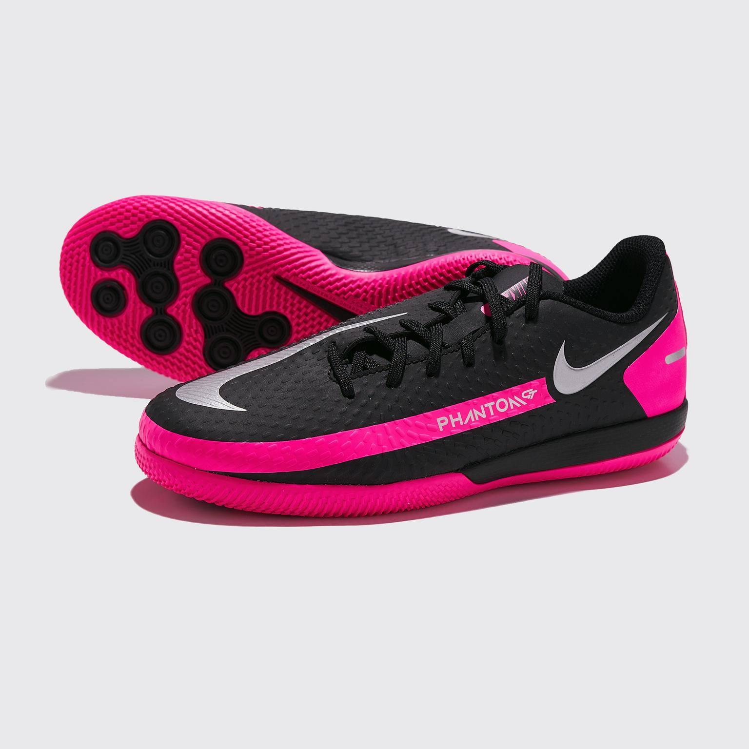 Футзалки детские Nike Phantom GT Academy IC CK8480-006 футзалки детские nike legend 8 academy ic at5735 606