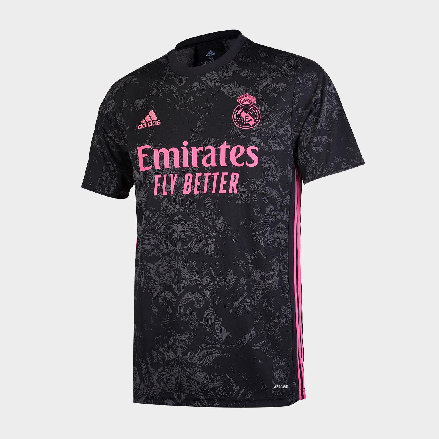 Футболка резервная Adidas Real Madrid сезон 2020/21 шорты тренировочные adidas real madrid сезон 2020 21