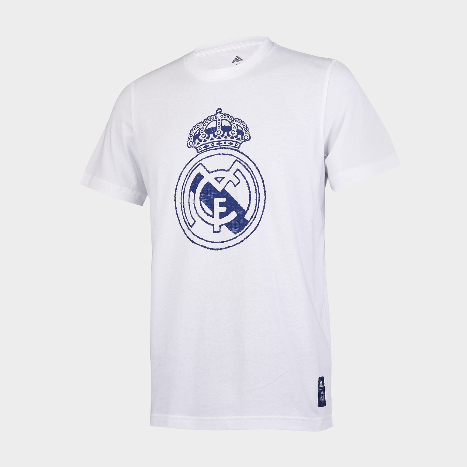 Футболка хлопковая Adidas Real Madrid сезон 2020/21 шорты тренировочные adidas real madrid сезон 2020 21