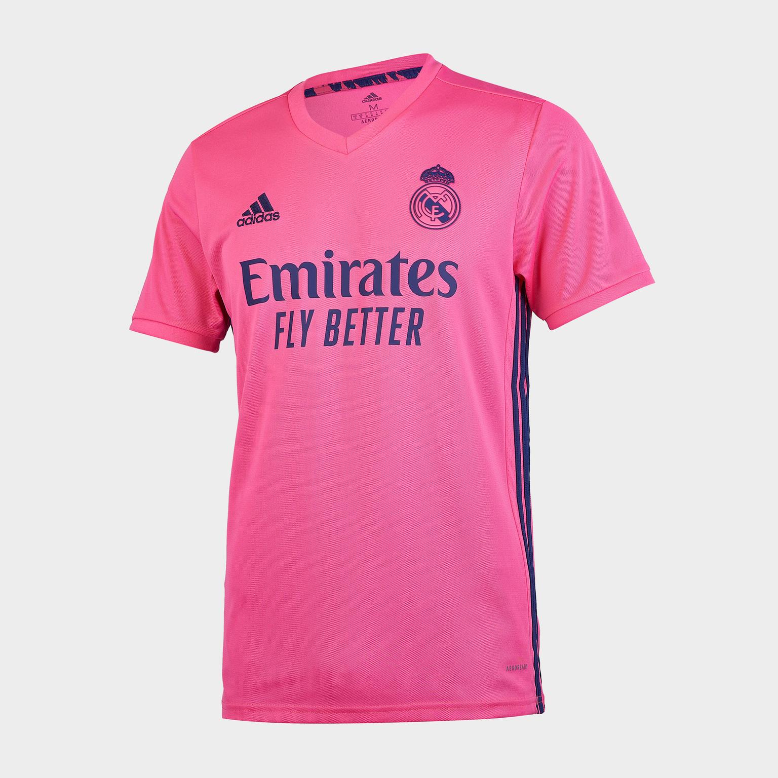 Футболка игровая выездная Adidas Real Madrid сезон 2020/21 шорты тренировочные adidas real madrid сезон 2020 21