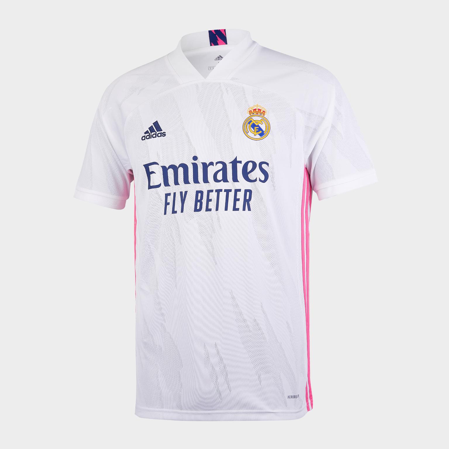 Футболка игровая домашняя Adidas Real Madrid сезон 2020/21 шорты тренировочные adidas real madrid сезон 2020 21