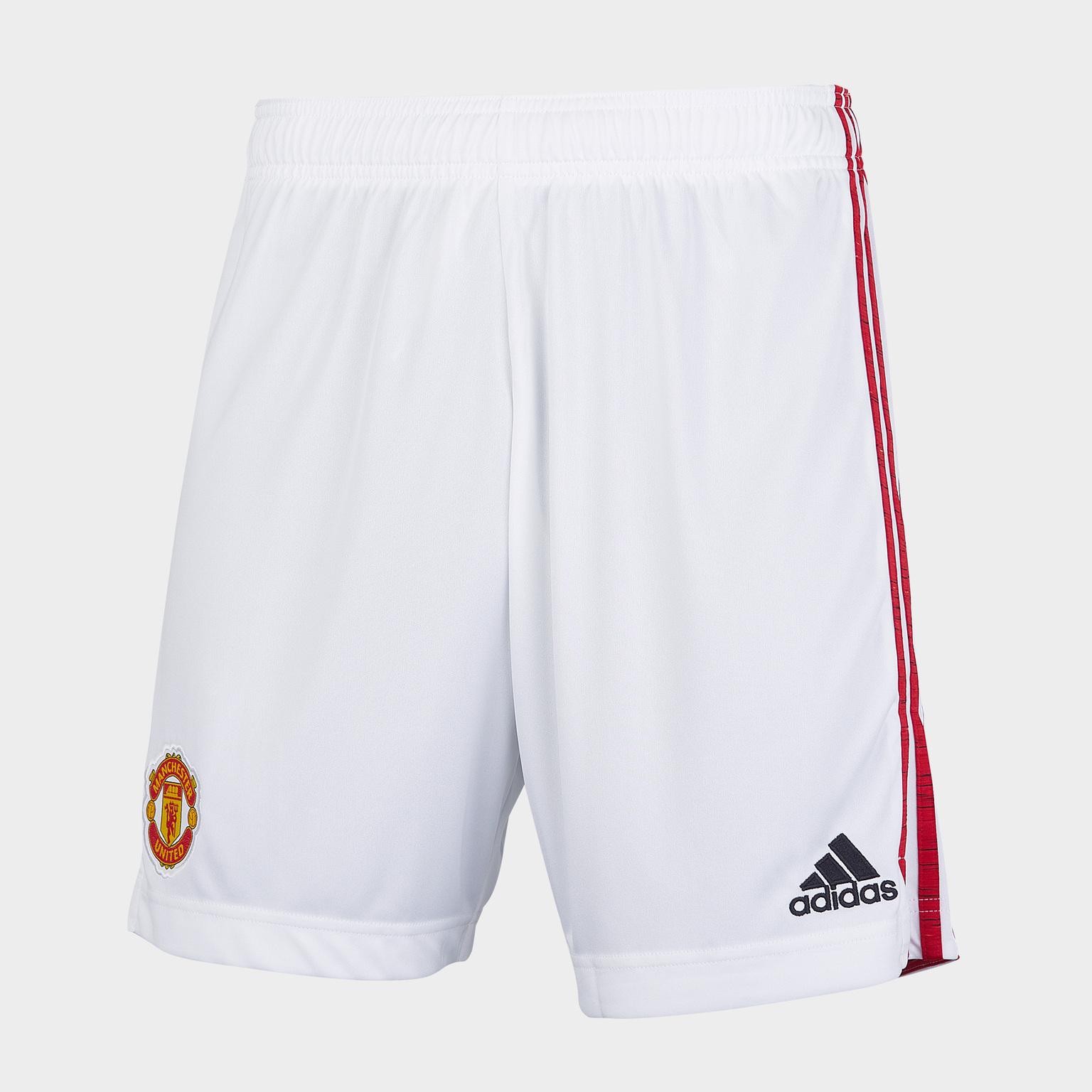 Шорты игровые домашние Adidas Manchester United сезон 2020/21 шорты тренировочные adidas manchester united 2019 20