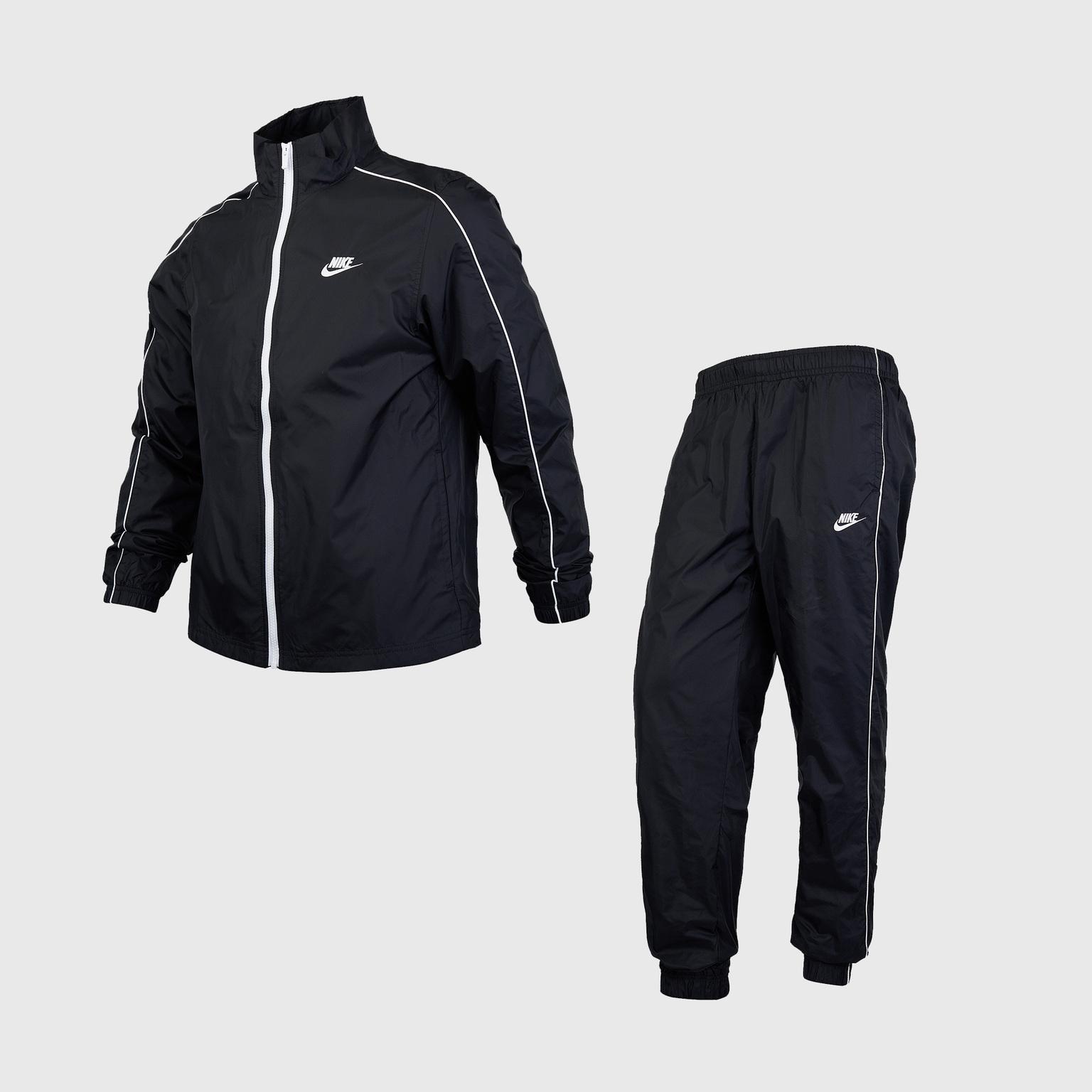 Костюм спортивный Nike Sportswear Woven Suit Basic BV3030-010