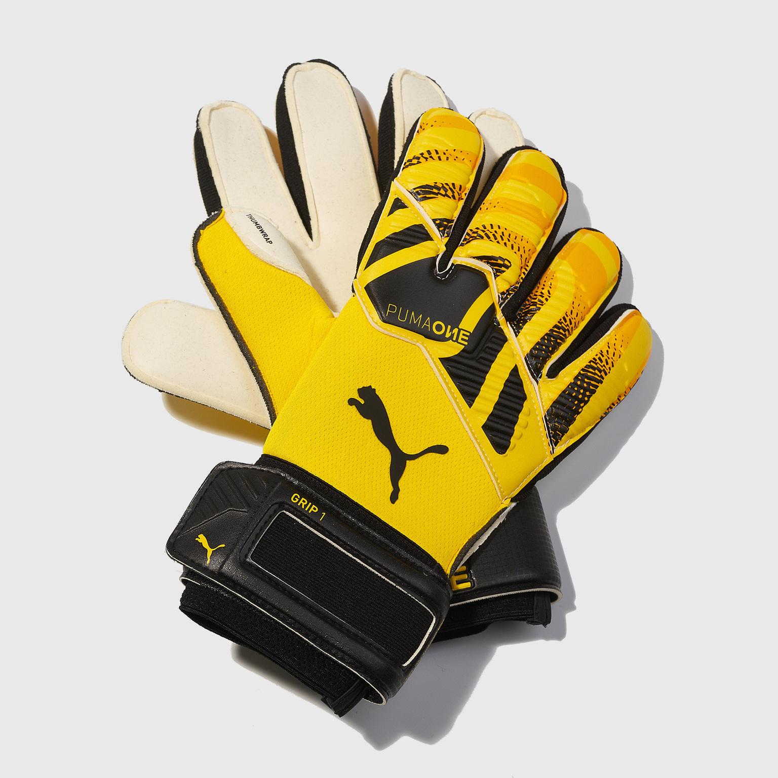Перчатки вратарские Puma One Grip 1 RC 04165102 перчатки вратарские nike vapor grip 3 cn5650 011