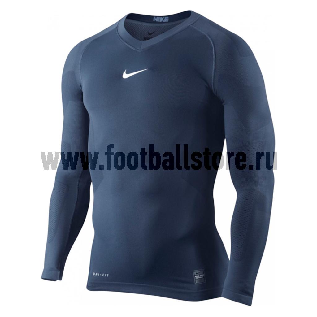 Белье Nike Футболка Nike NPC HC LS Vapor Top 454816-410