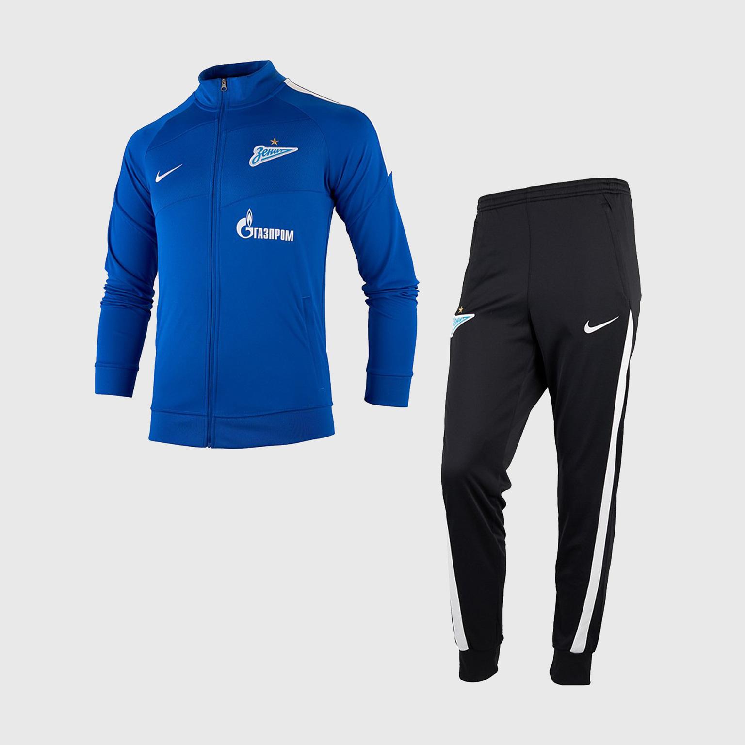 Костюм спортивный подростковый Nike Zenit сезон 2020/21 костюм спортивный nike spe fleece suit bv3017 058