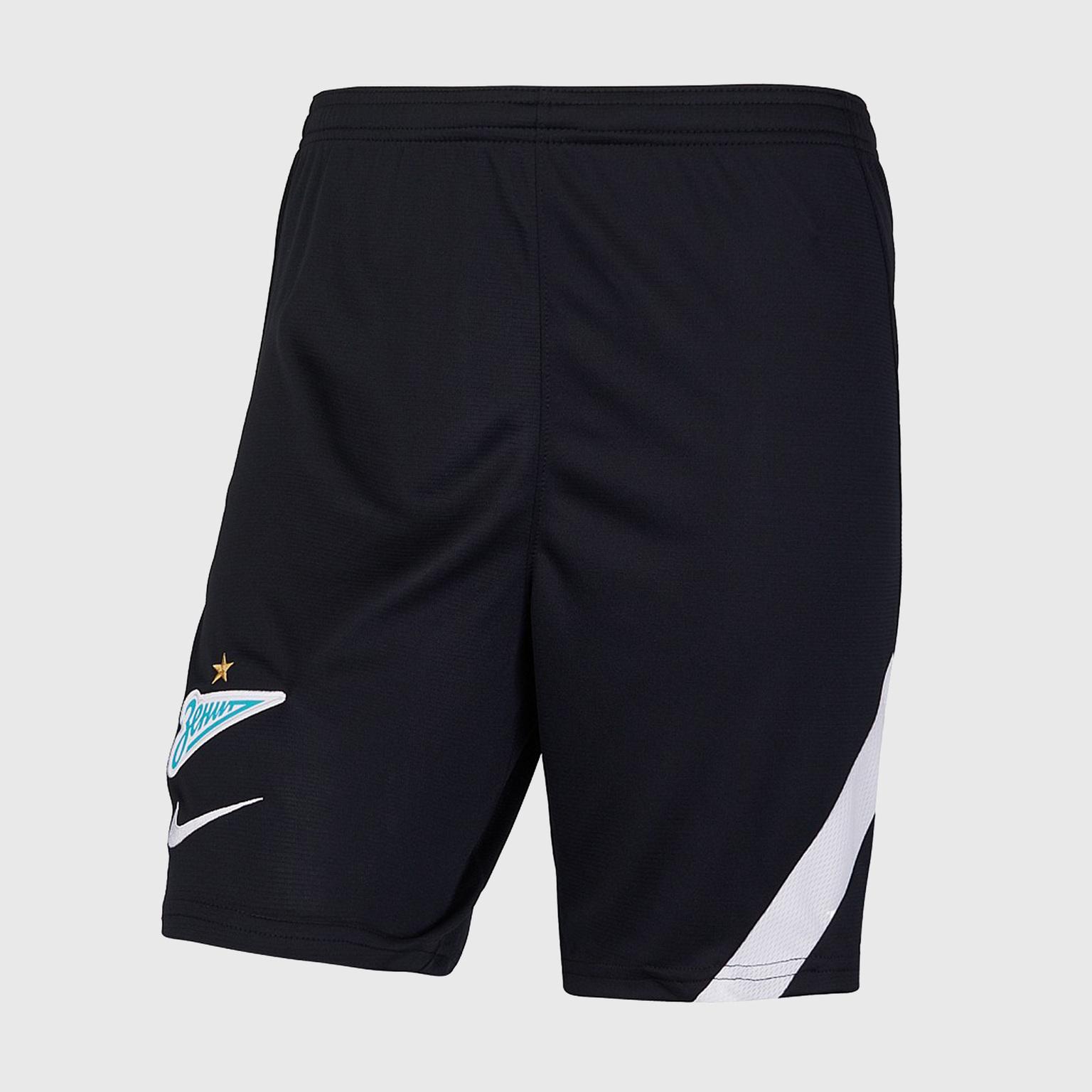Шорты тренировочные подростковые Nike Zenit сезон 2020/21 шорты вратарские nike подростковые сезона 2017 2018 nike цвет зеленый