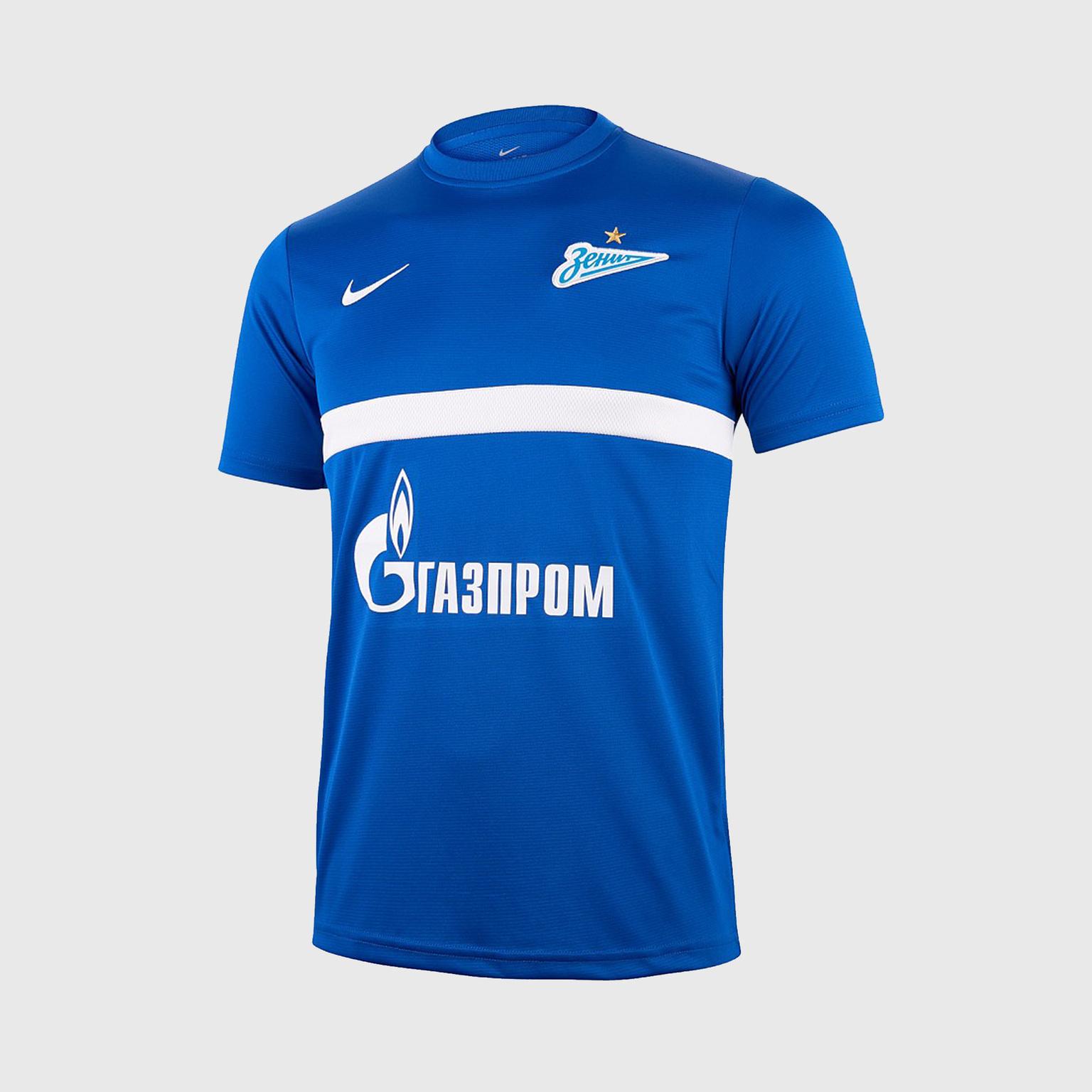 Футболка тренировочная подростковая Nike Zenit сезон 2020/21