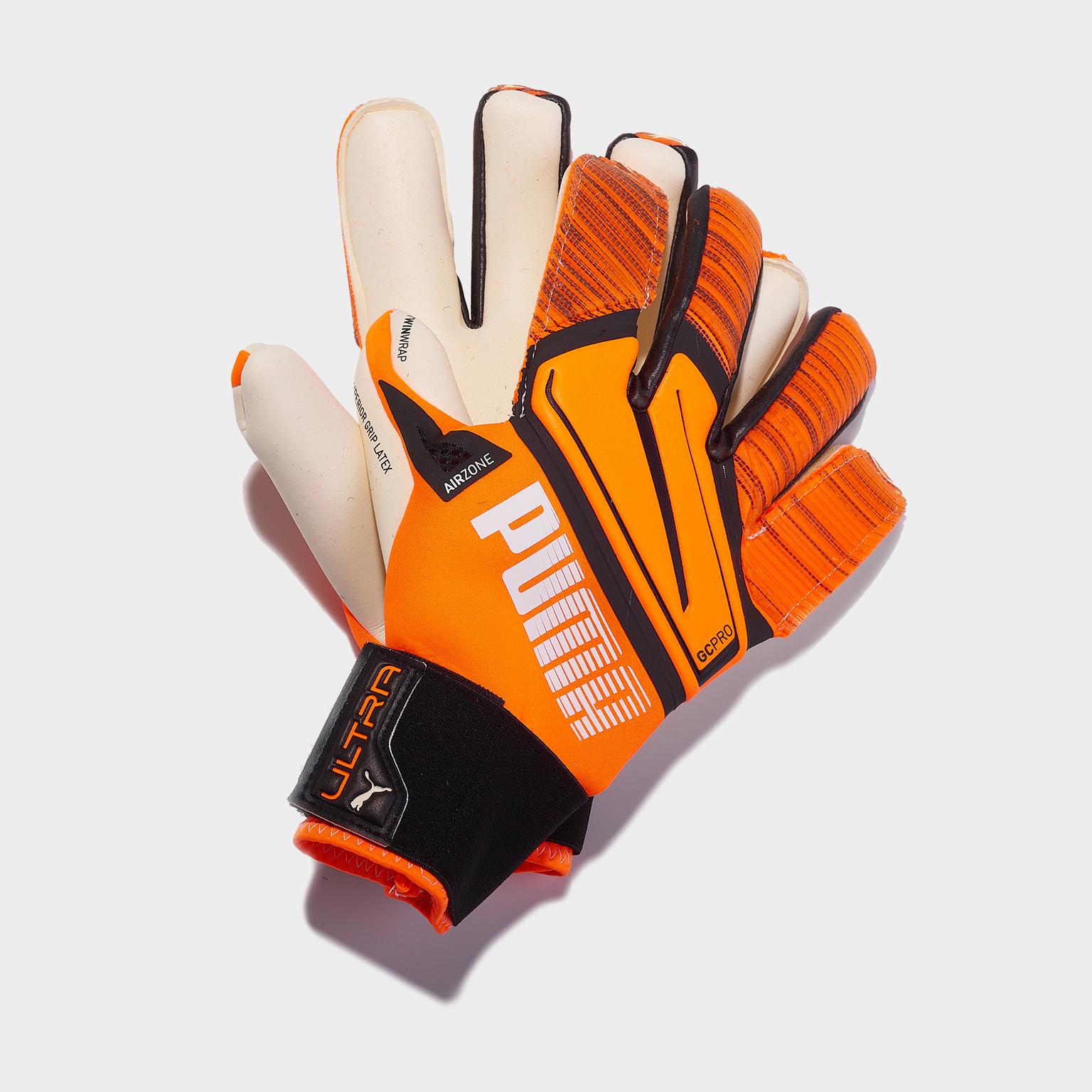 Перчатки вратарские Puma Ultra Grip 1 Hybrid Pro 04169601 перчатки вратарские nike vapor grip 3 cn5650 011