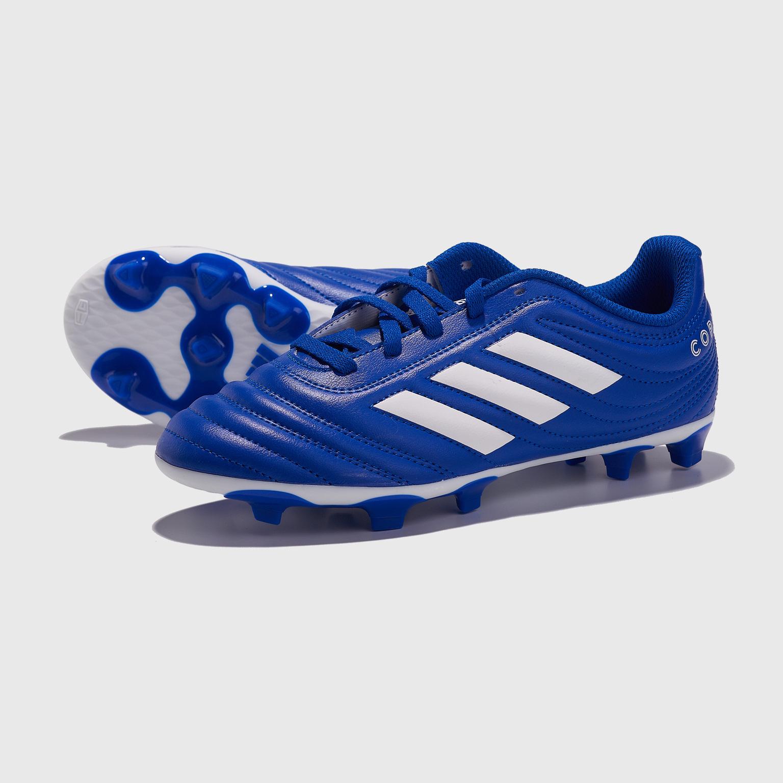 Бутсы детские Adidas Copa 20.4 FG EH1813 бутсы детские adidas copa 20 3 fg ef1913