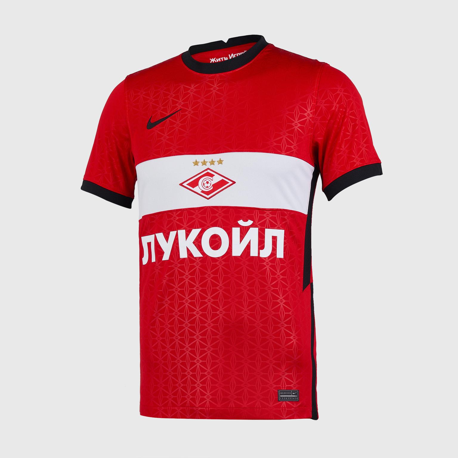 Футболка игровая домашняя Nike Spartak сезон 2020/21