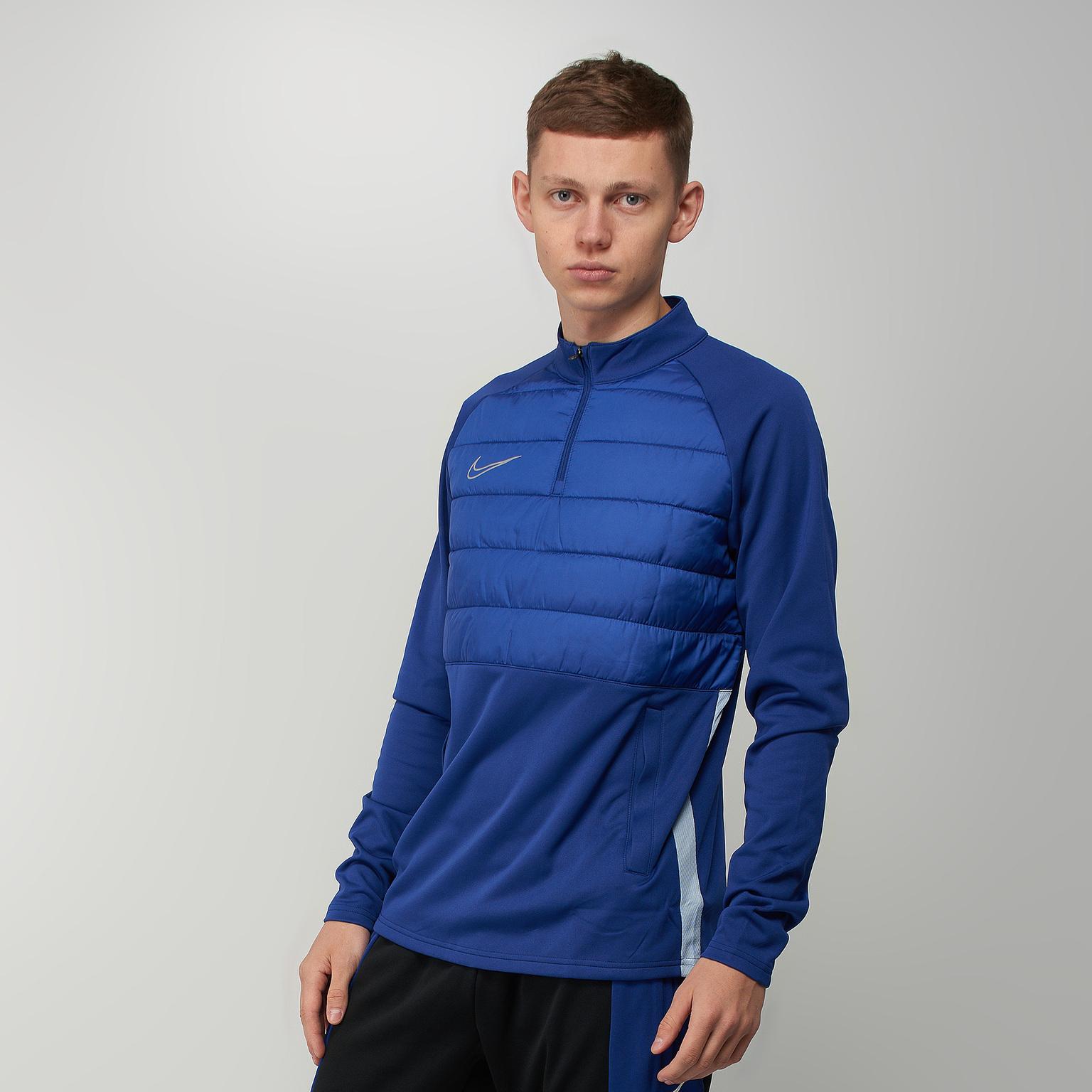 Фото - Свитер тренировочный Nike Dry Pad Dril Top BQ7473-455 свитер тренировочный nike dry academy18 dril top ls 893624 451