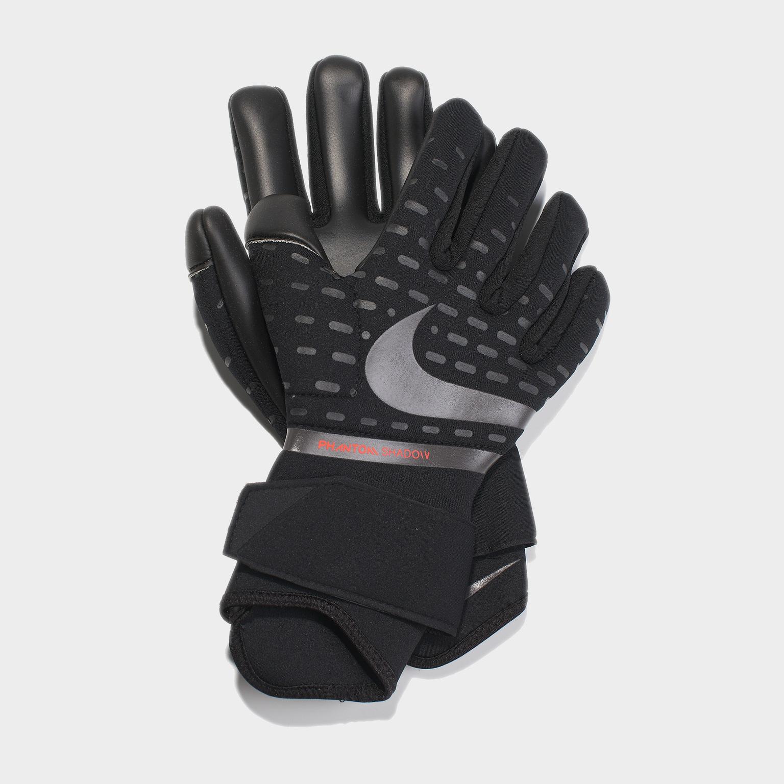 Перчатки вратарские Nike Phantom Shadow CN6758-011 перчатки вратарские nike vapor grip 3 cn5650 011