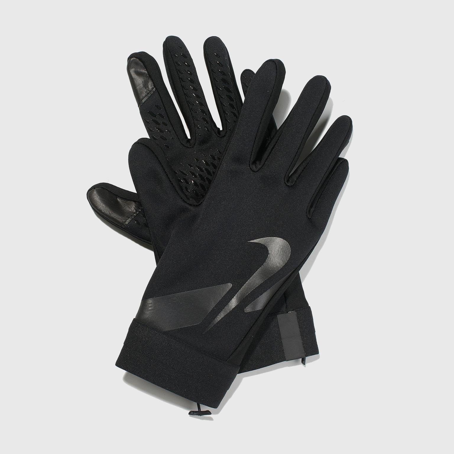 Перчатки тренировочные детские Nike Academy Hyperwarm CU1595-011 перчатки вратарские nike vapor grip 3 cn5650 011