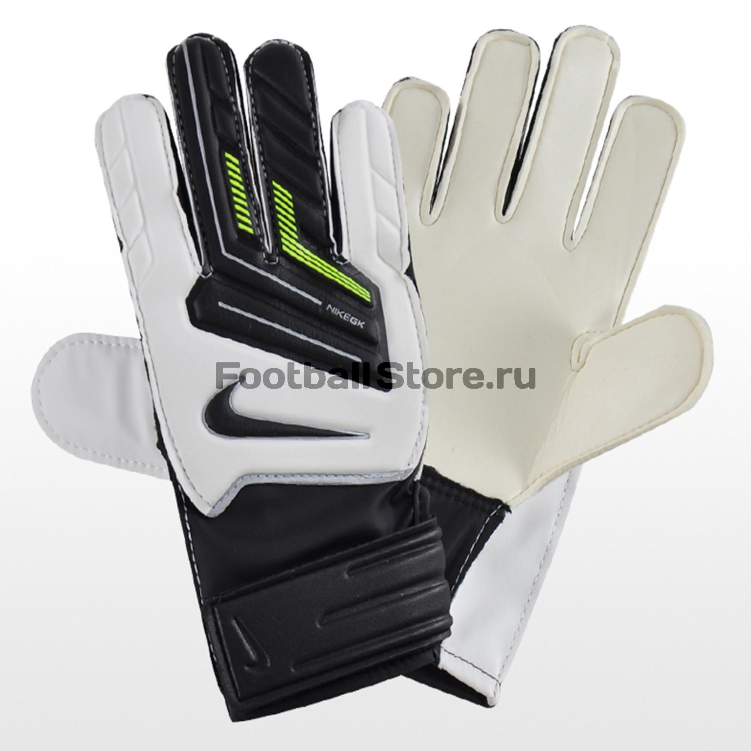 Вратарская экипировка Nike Вратарские перчатки Nike GK Grip JR GS0260-172