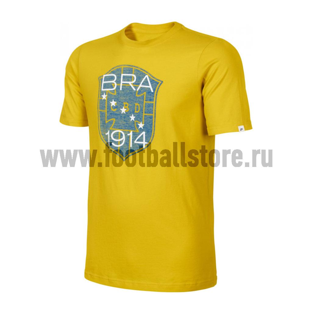 Brasil Nike Футболка Nike Brasil Covert Vintage Tee 534001-716