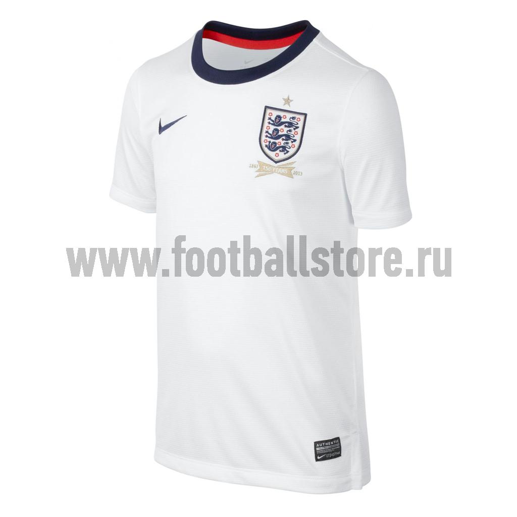 Клубная продукция Nike Футболка Nike England Boys Home 582544-105