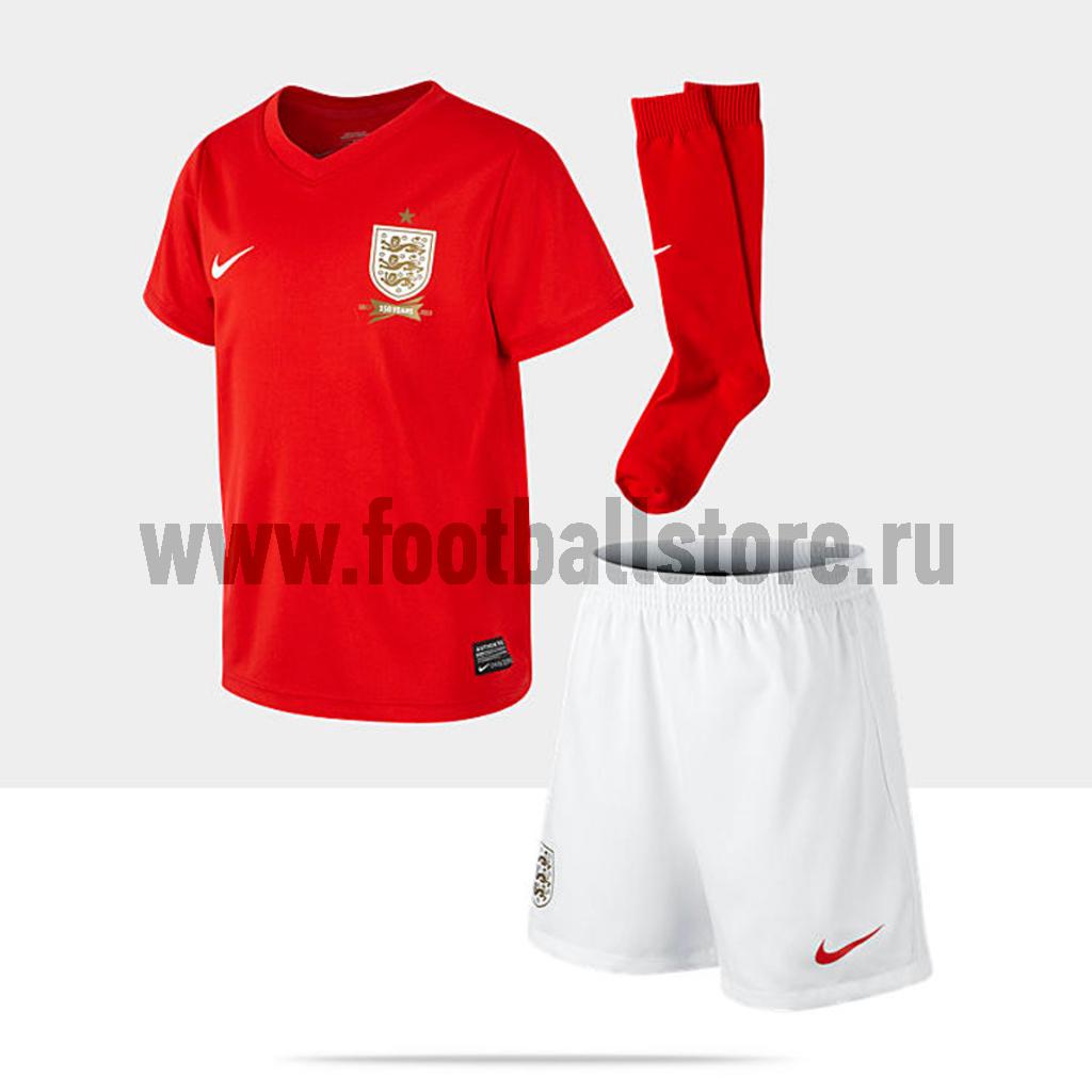 England Nike Комплект формы детский Nike England Boys Away 585525-657