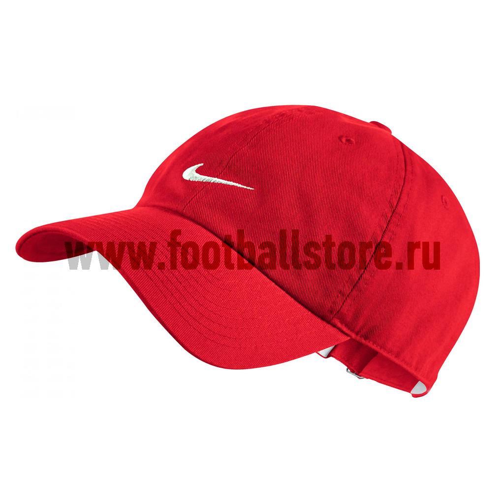 Головные уборы Nike Бейсболка Nike Heritage Swoosh Cap 371218-657