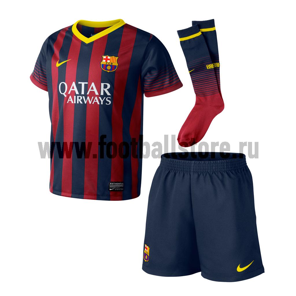 Клубная продукция Nike Комплект детской формы Nike Barcelona LT 532805-412