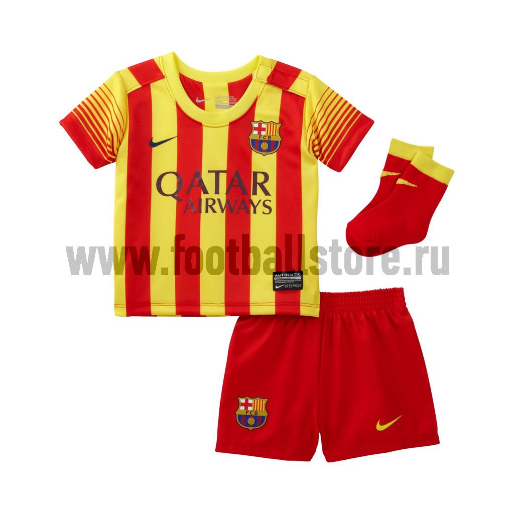 Клубная продукция Nike Комплект формы для малышей Nike Barcelona INFANTS 532819-702