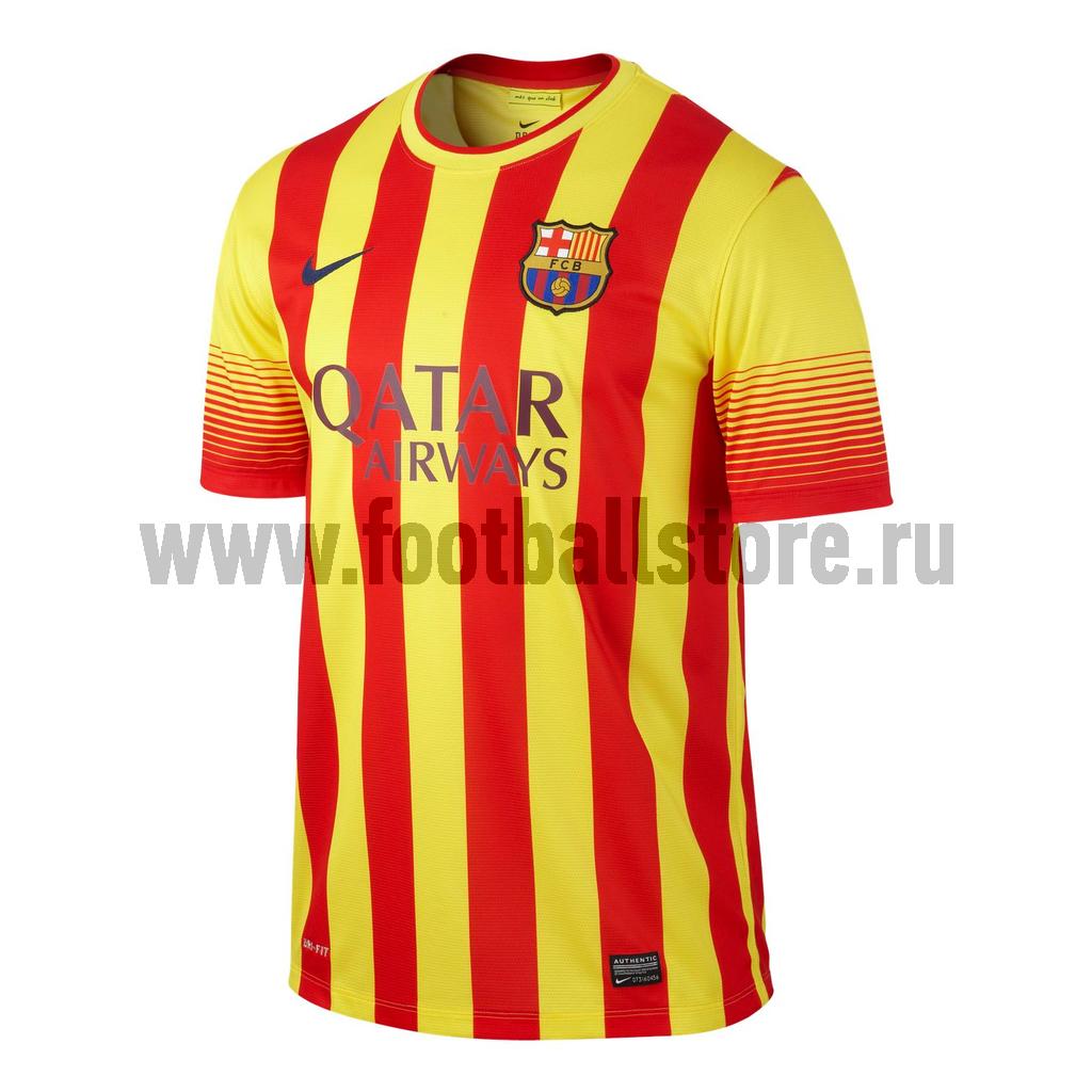 Barcelona Nike Футболка Nike Barcelona SS AWAY 532823-703