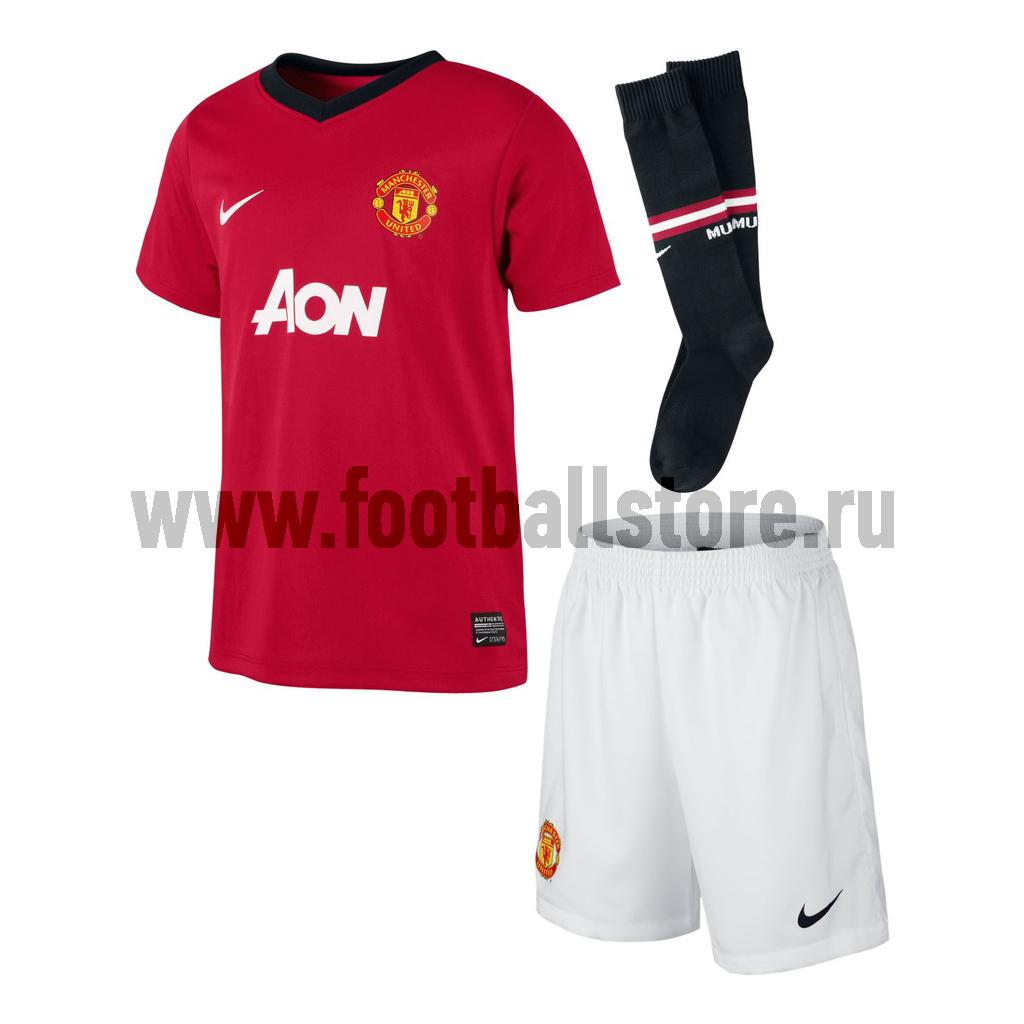 Клубная продукция Nike Комплект детской формы Nike Man Untd Boys 532873-624