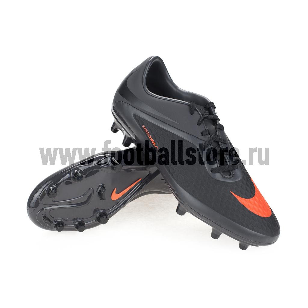 Игровые бутсы Nike Бутсы Nike HyperVenom Phelon FG 599730-080