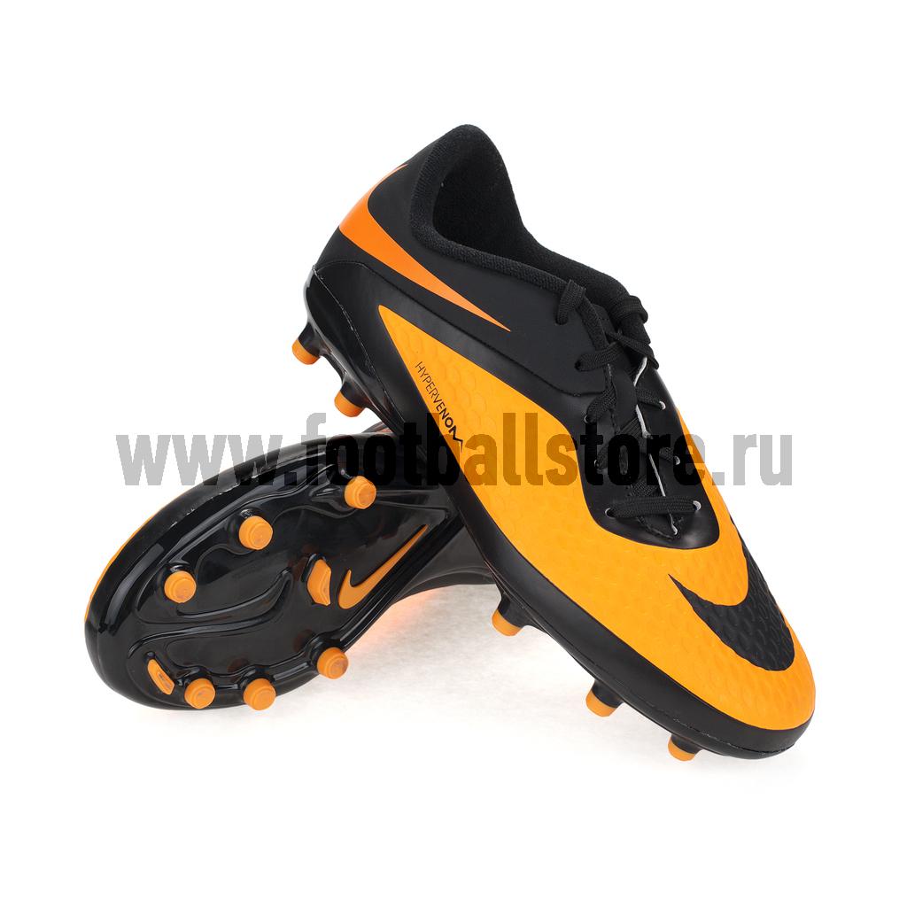 Бутсы Nike Бутсы Nike HyperVenom Phelon FG JR 599062-008