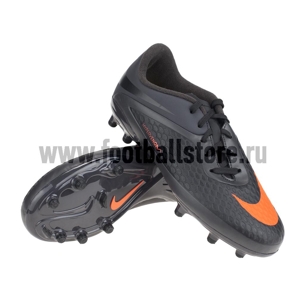 Бутсы Nike Бутсы Nike HyperVenom Phelon FG JR 599062-080