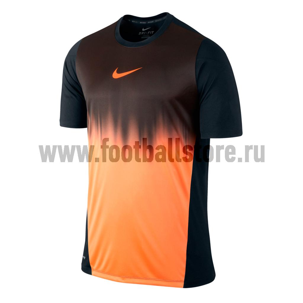 Футболки Nike Футболка тренировочная Nike GPX SS Faded 555403-010