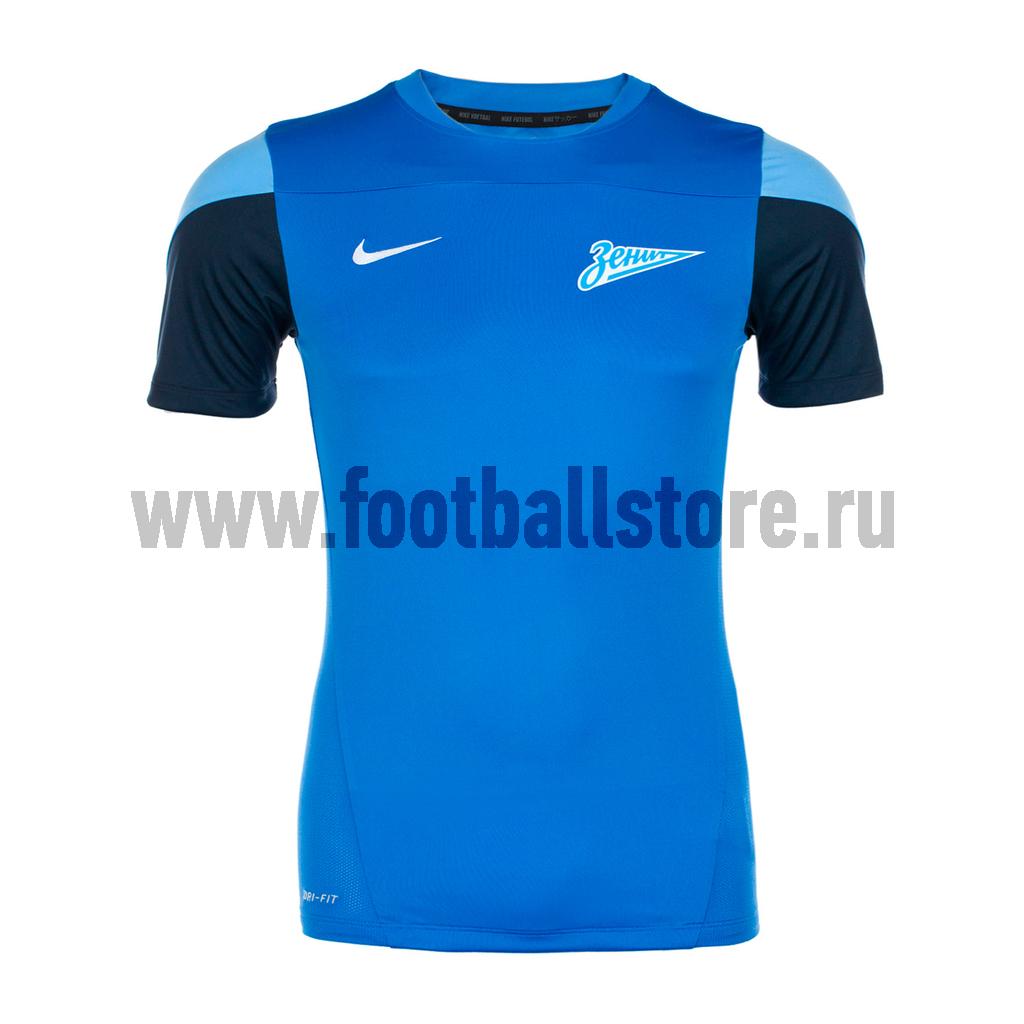 Футболки Nike Футболка тренировочная Nike Squad SS TOP 544798-401