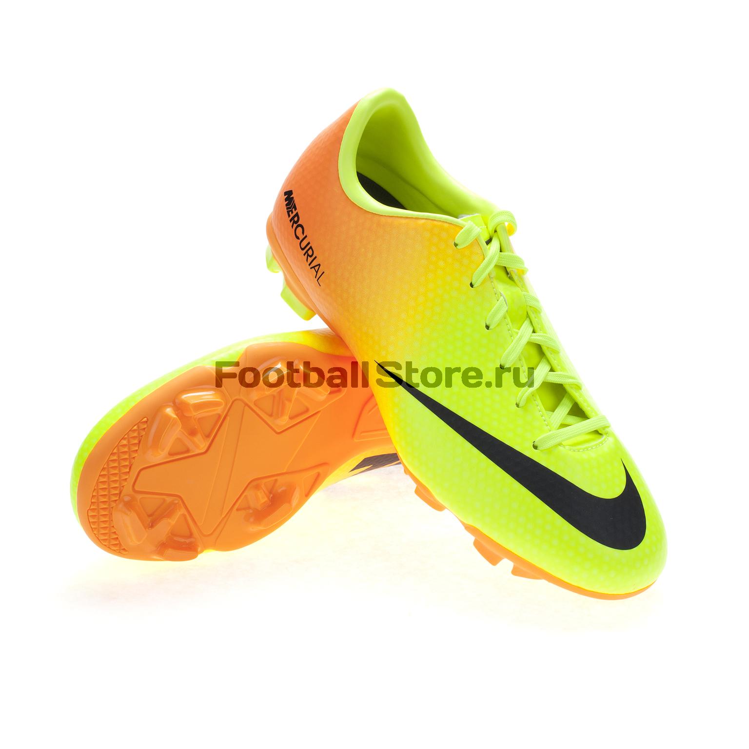 Бутсы Nike Бутсы Nike Mercurial Victory IV FG JR 553631-708