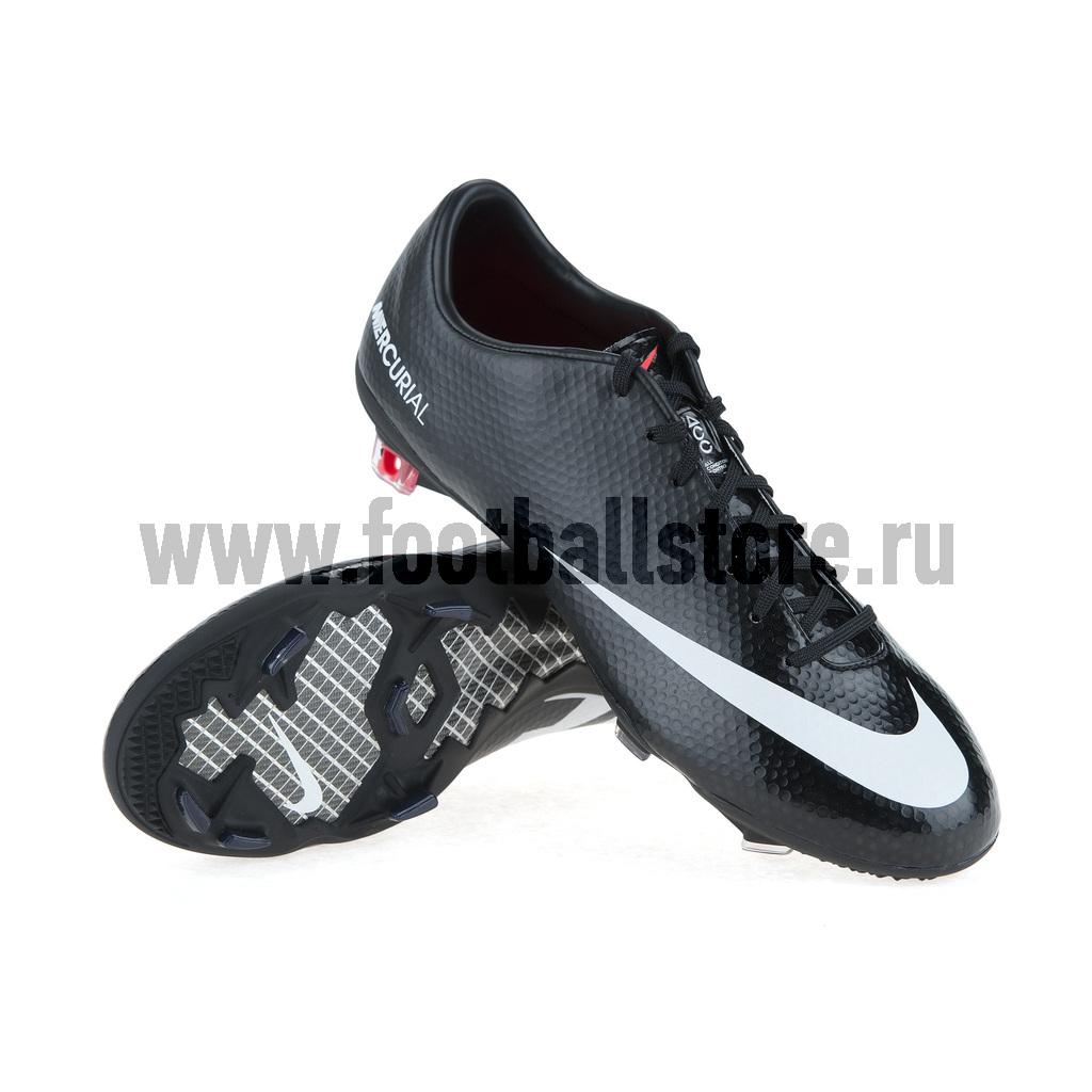 Игровые бутсы Nike Бутсы Nike Mercurial Vapor IX FG 555605-010