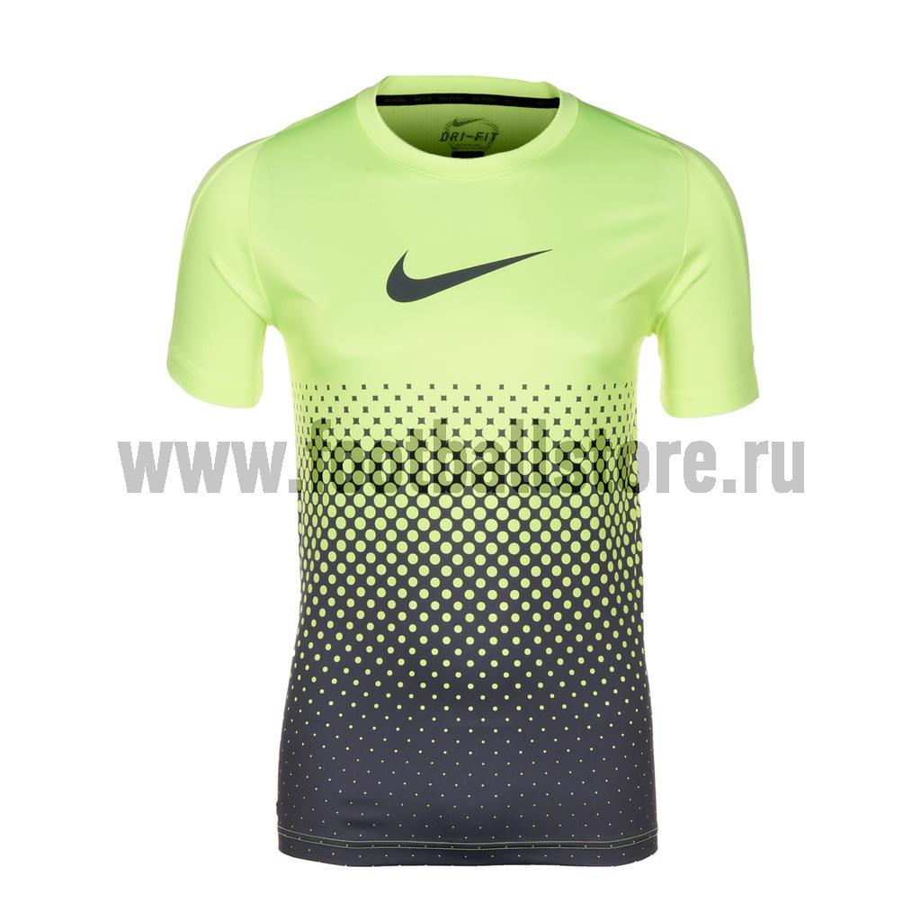 Футболки Nike Футболка Nike GPX SS Gradient Top 549516-715