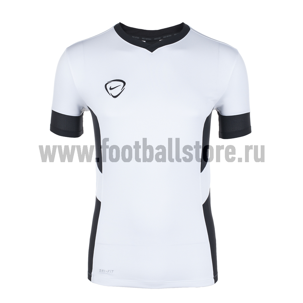 Футболки Nike Футболка Nike Academy SS Vneck Training Top 548399-100