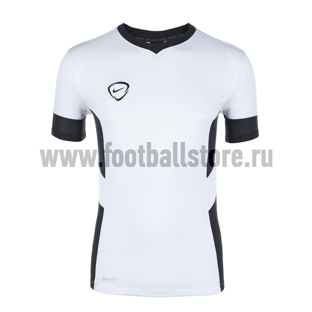 Футболки Nike Футболка Nike Academy SS Vneck Training Top 548399-100