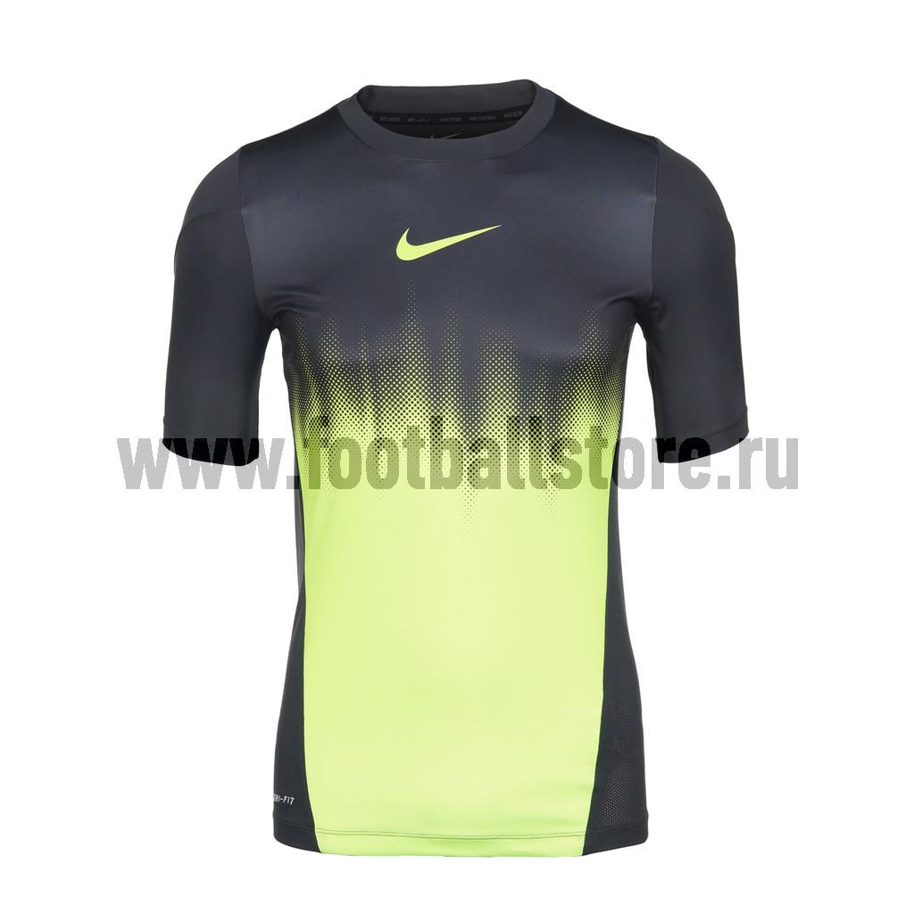 Футболки Nike Футболка тренировочная Nike GPX SS Faded 555403-060