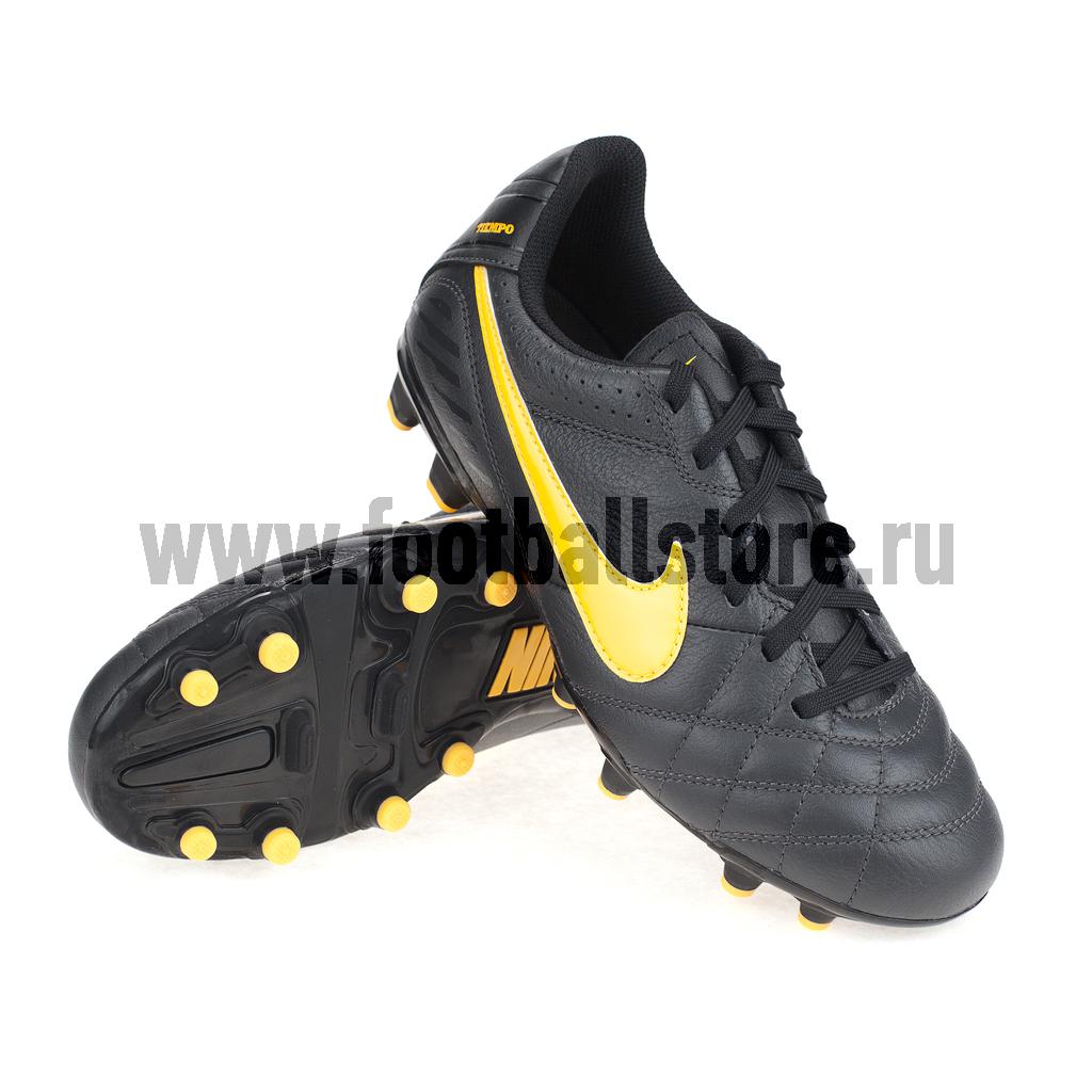 Бутсы Nike Бутсы Nike Tiempo IV LTR FG JR 509081-080