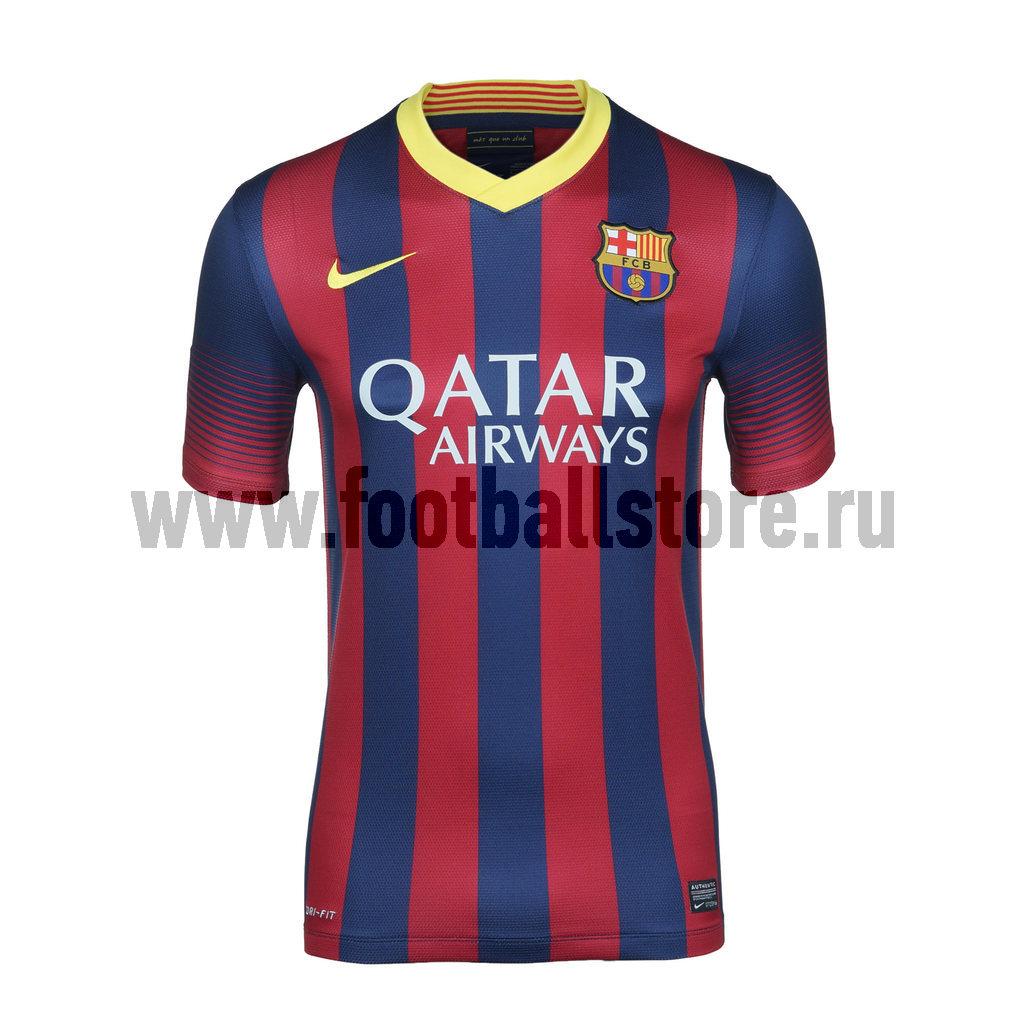 Barcelona Nike Футболка Nike Barcelona SS Home Repl JSY 532822-413