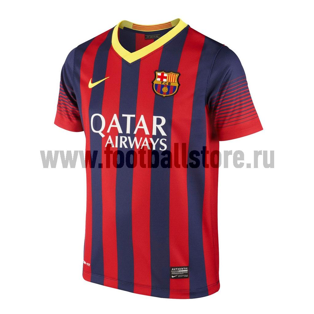 Клубная продукция Nike Футболка Nike FCB Boys SS Home Repl JSY 532808-413