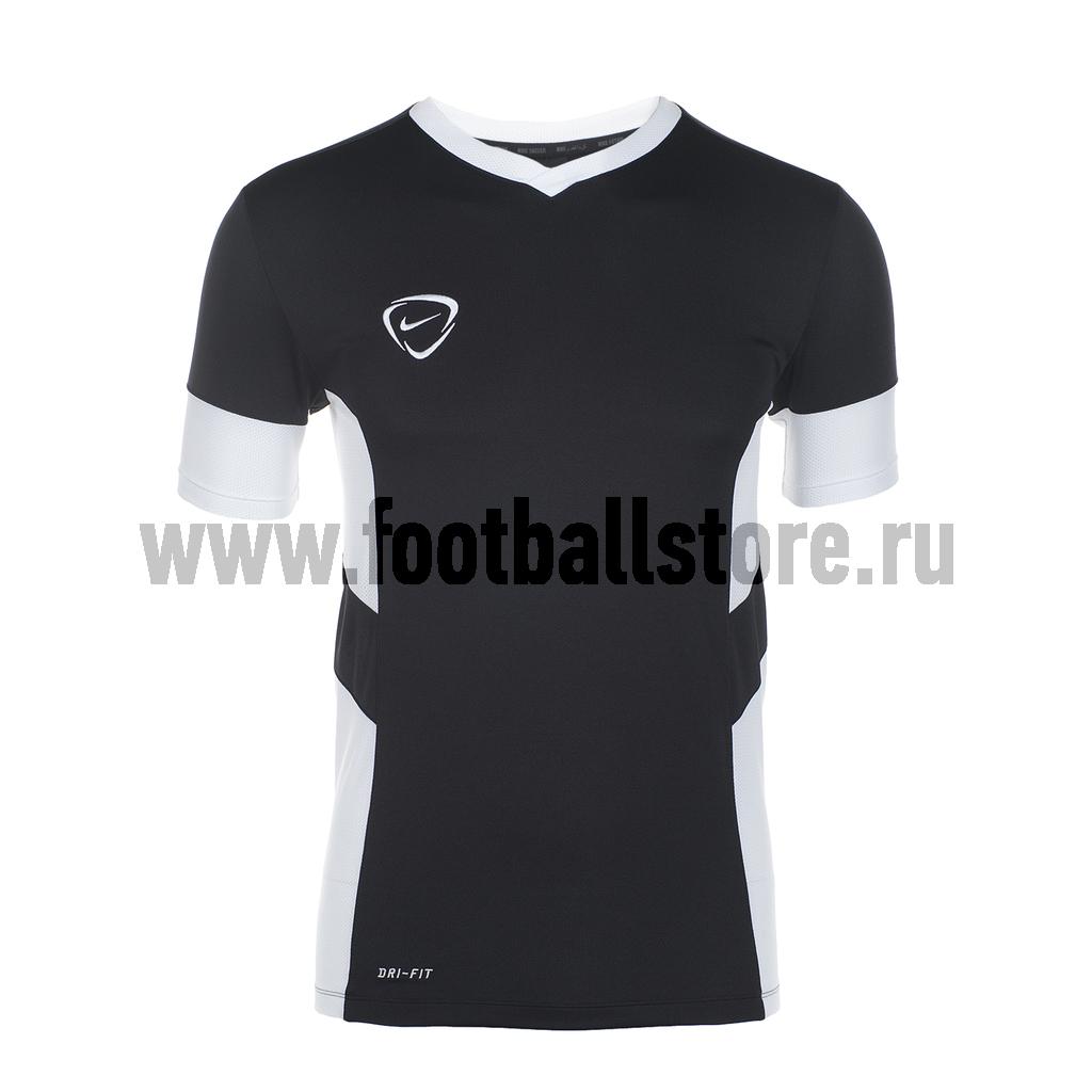 Футболки Nike Футболка Nike Academy SS Vneck Training Top 548399-010