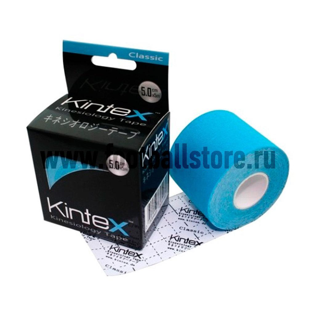 Тейп Kintex, classic, голубой, 5м