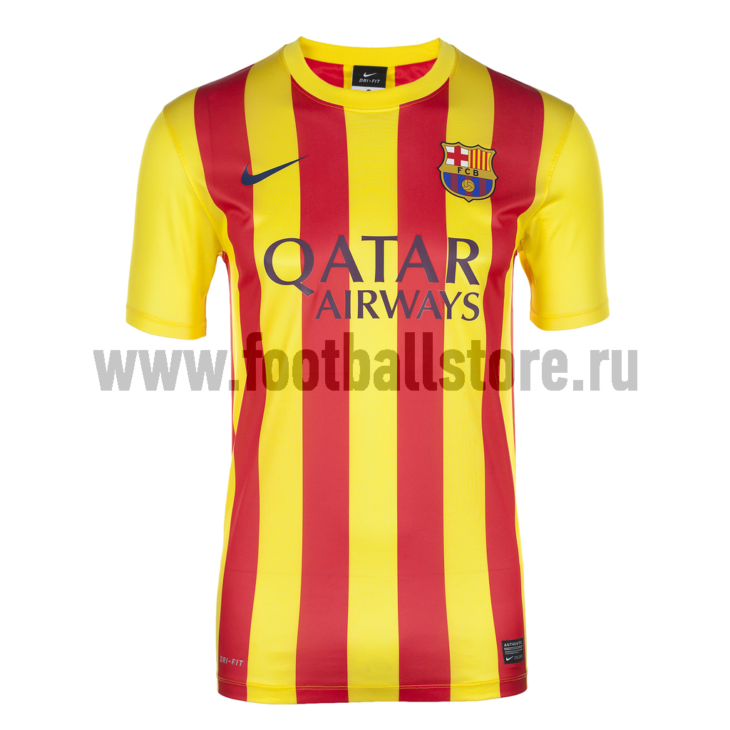 Barcelona Nike Футболка Nike Barcelona SS Away Stadium JSY 532826-701