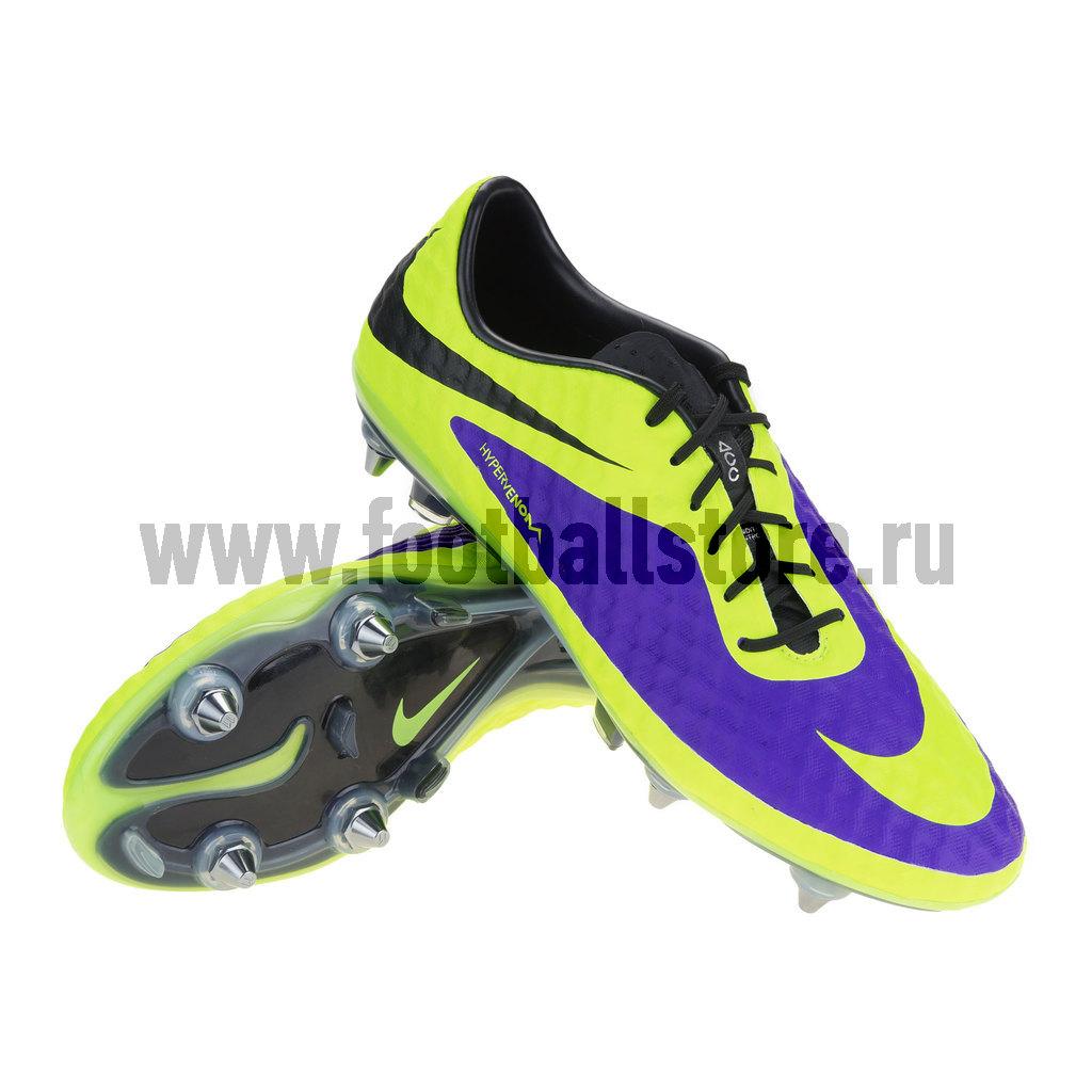 Игровые бутсы Nike Бутсы Nike HyperVenom Phantom SG-Pro 599851-570