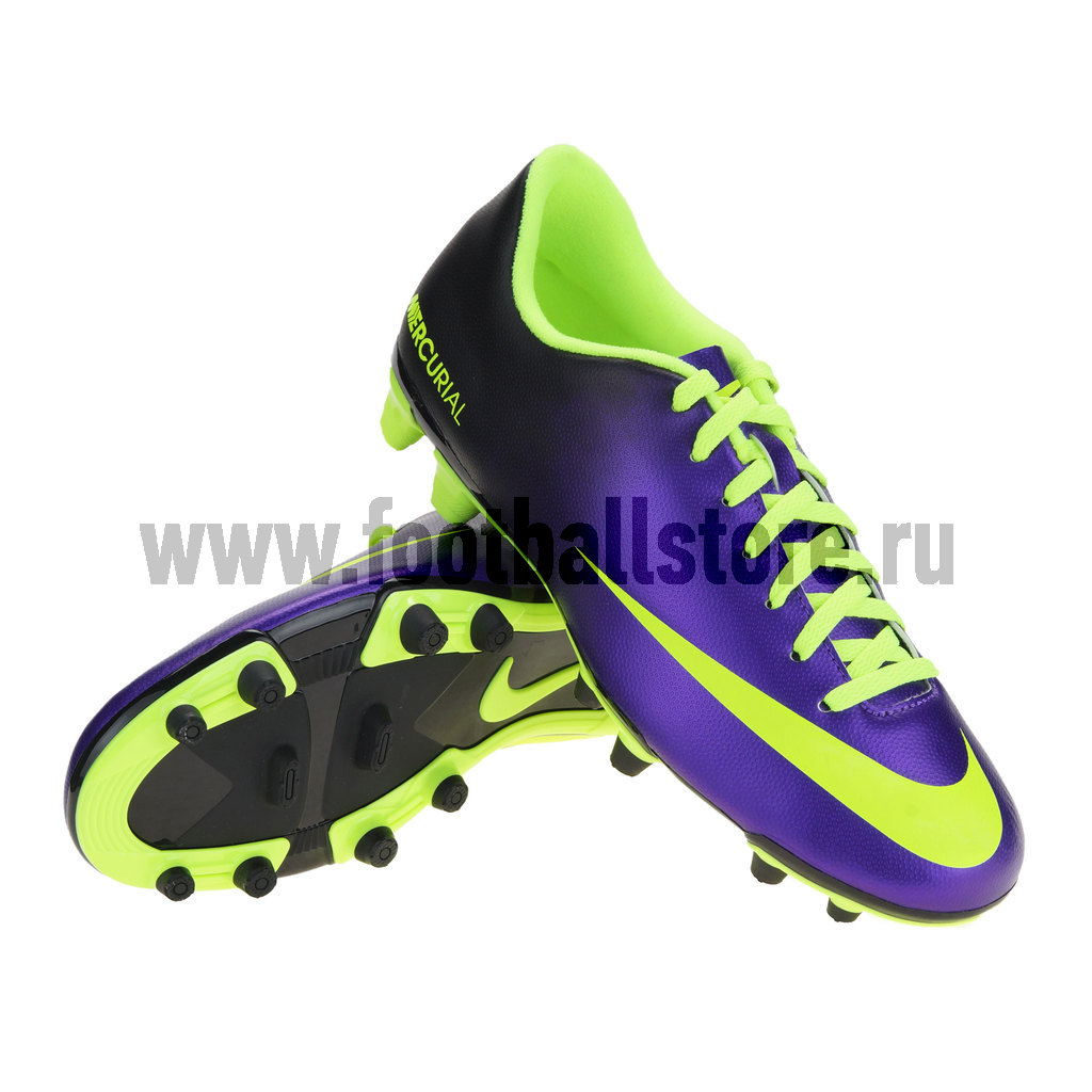 Игровые бутсы Nike Бутсы Nike Mercurial Vortex FG 573873-570