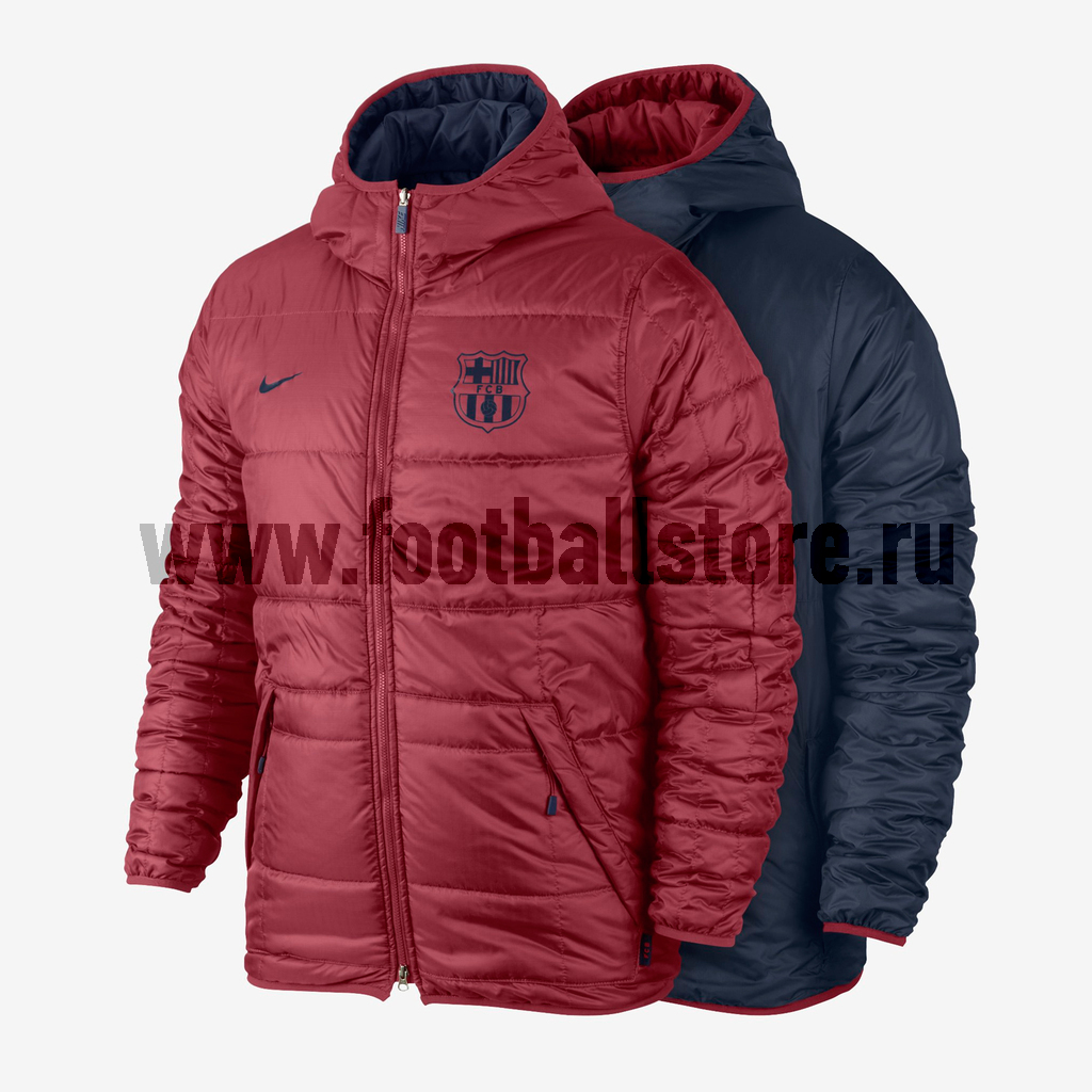 Куртки/Пуховики Nike Куртка двухсторонняя Nike Barcelona Alliance Flip IT 546804-642