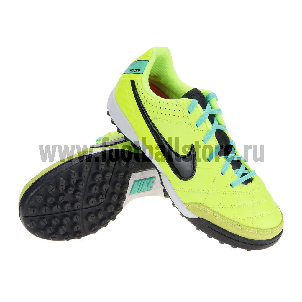 Бутсы Nike Шиповки Nike Tiempo Natural IV LTR TF JR 509084-703