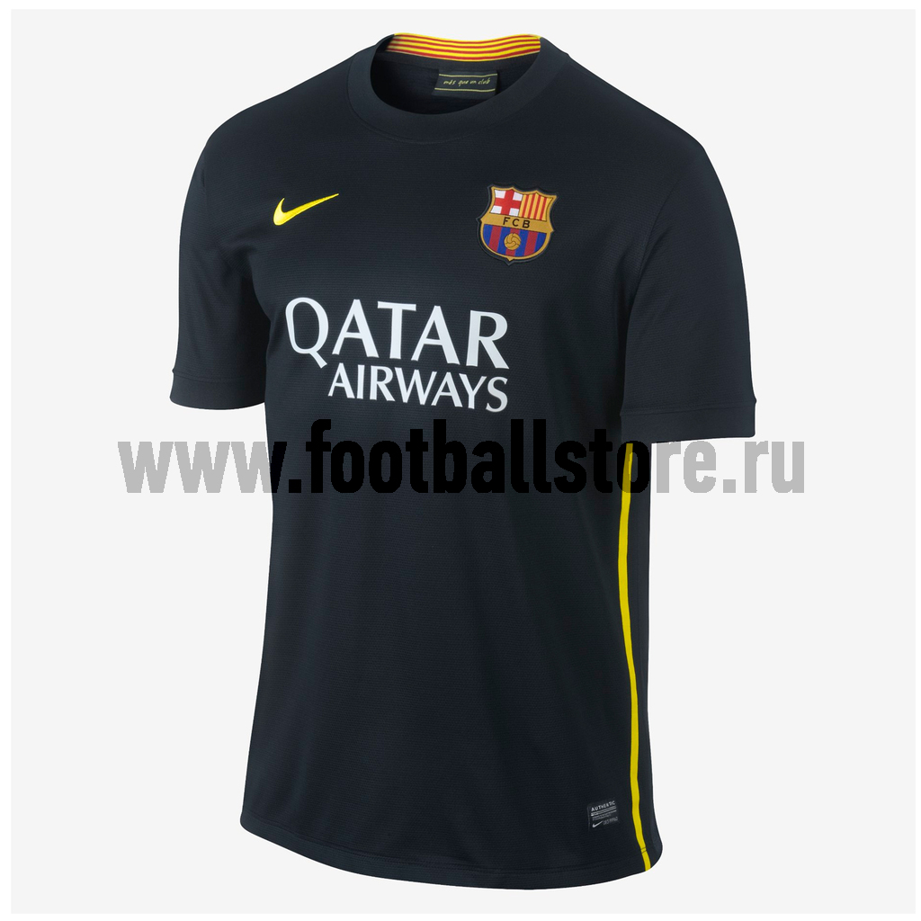 Клубная продукция Nike Футболка Nike Barcelona Boys SS Third Stadium JSY 532813-011