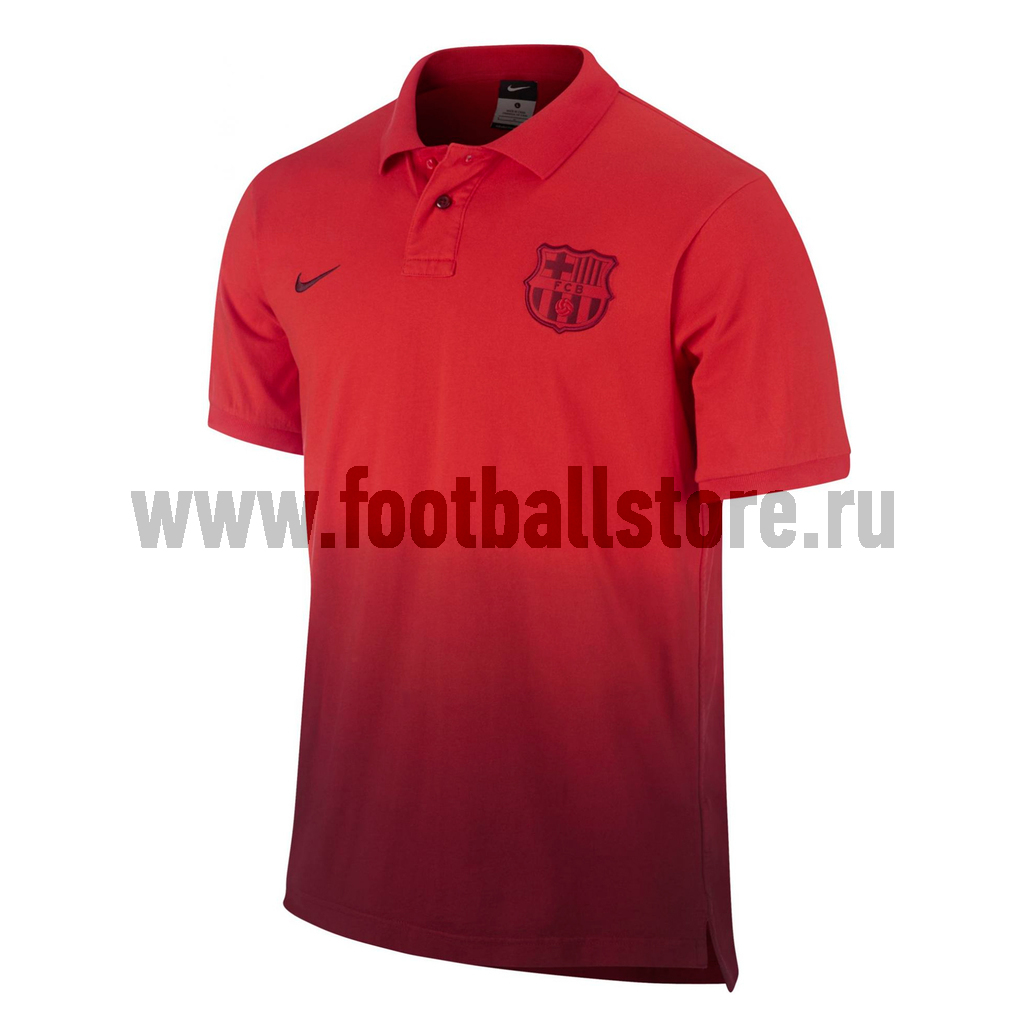 Barcelona Nike Поло Nike Barcelona Authentic SS GS Polo 541339-600